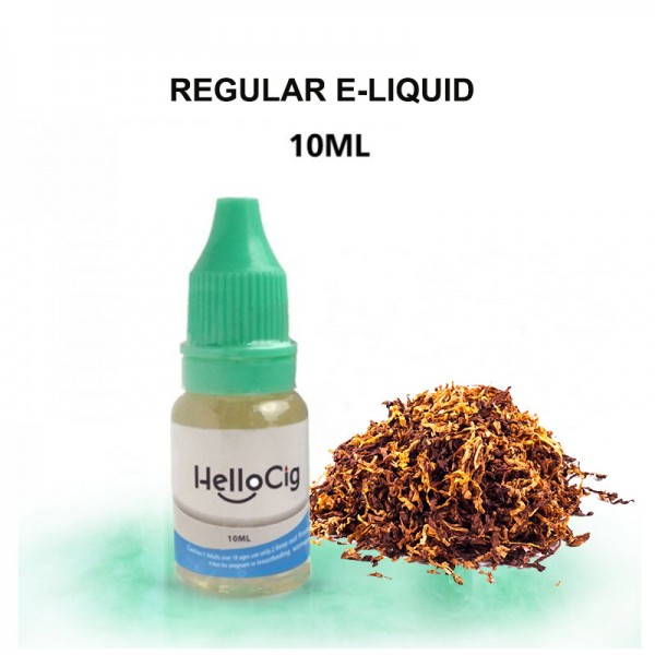 Regular HelloCig E-Liquid 10ml