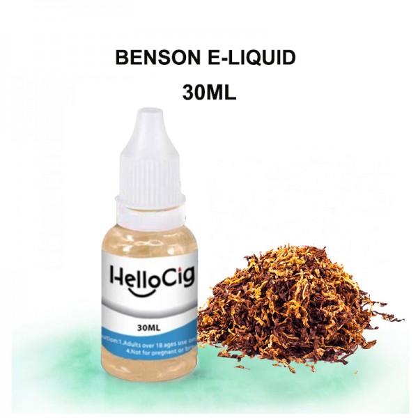 Benson HelloCig E-Liquid 30ml