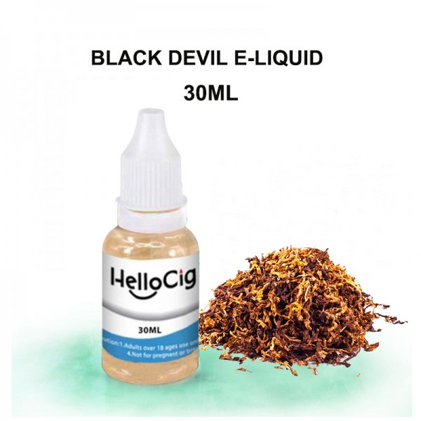 Black Devil HelloCig E-Liquid 30ml