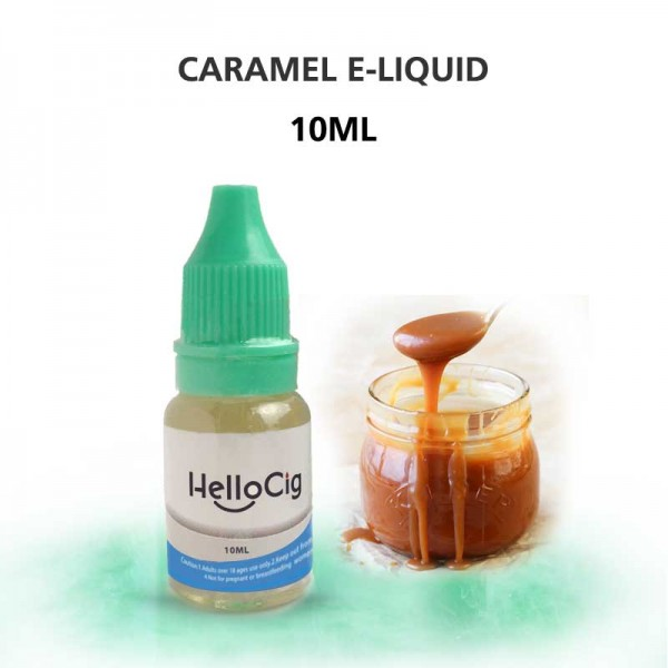 Caramel HelloCig E-Liquid 10ml