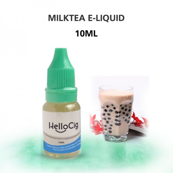 Milk Tea HelloCig E-Liquid 10ml