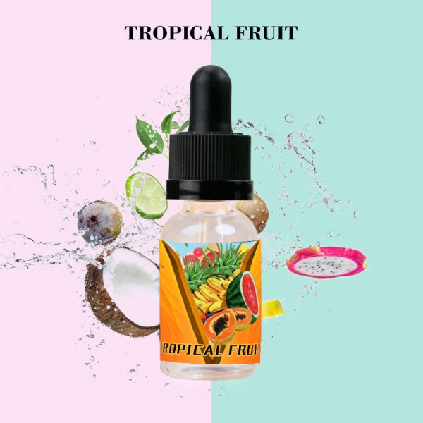 Tropical Fruit Flavor E-Liquid 10ML