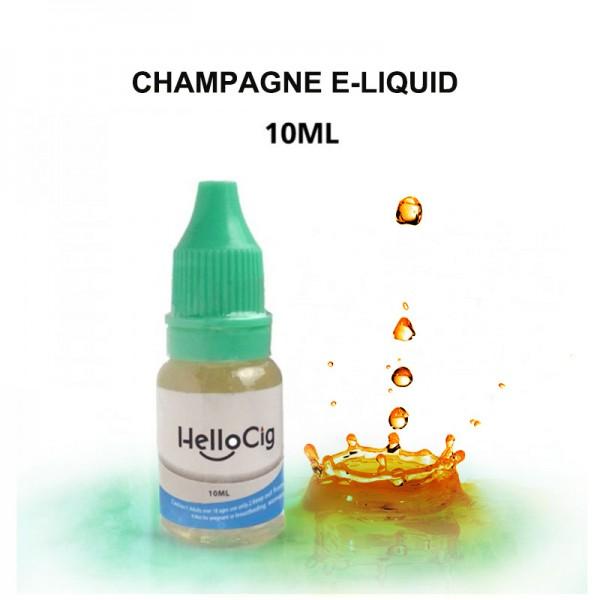 Champagne HelloCig E-Liquid 10ml