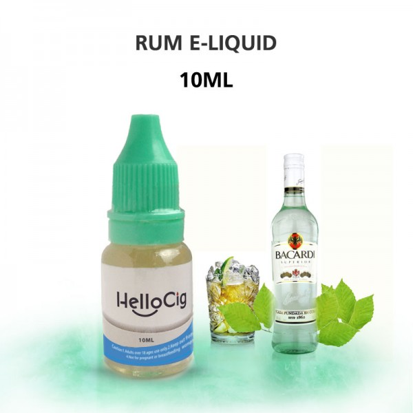 Rum HelloCig E-Liquid 10ml