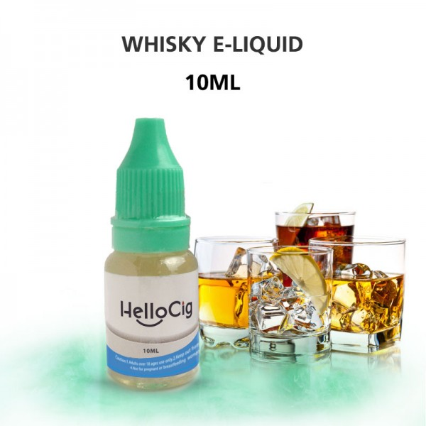 Whisky HelloCig E-Liquid 10ml