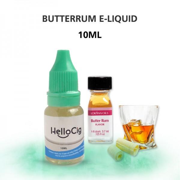 ButterRum HelloCig E-Liquid 10ml
