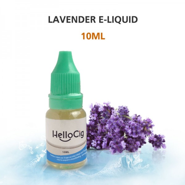 Lavender HelloCig E-Liquid 10ml