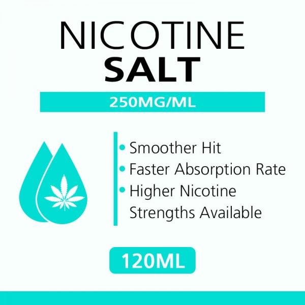 120ML 250mg/ml nicotine salts