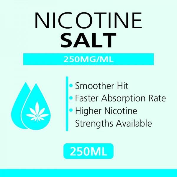 250ML 250mg/ml nicotine salts