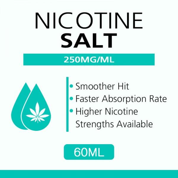 60ML 250mg/ml nicotine salts