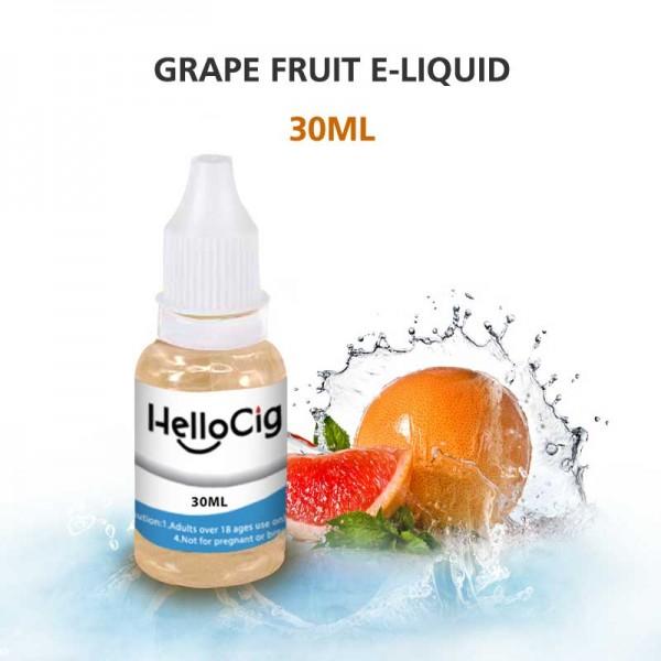 Grape Fruit HelloCig E-Liquid 30ml
