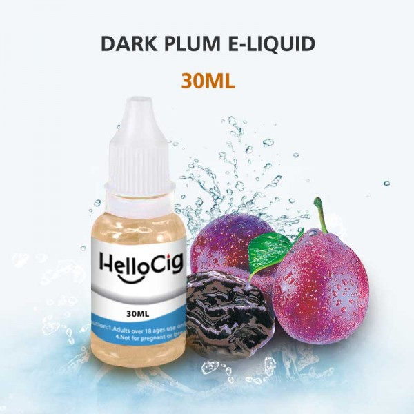 Dark Plum HelloCig E-Liquid 30ml