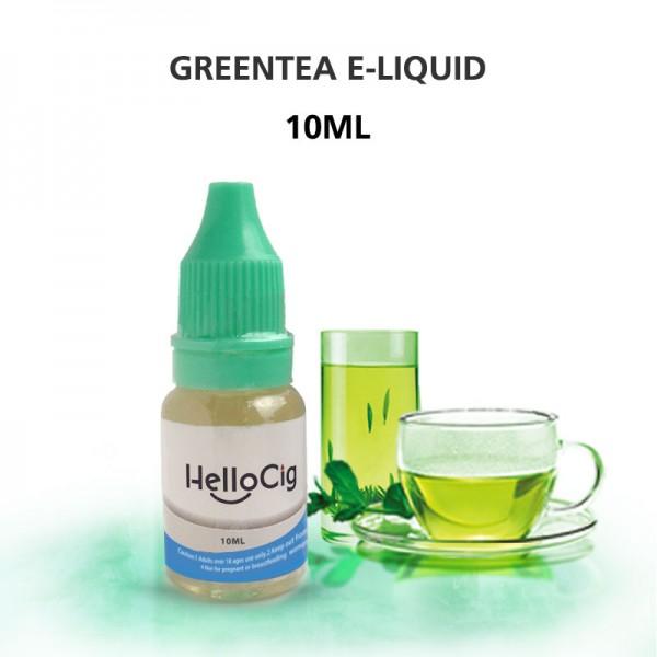 Green Tea HelloCig E-Liquid 10ml