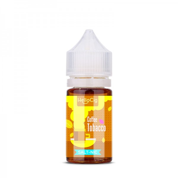 Coffee Tobacco nicotine salt e-liquid flavor
