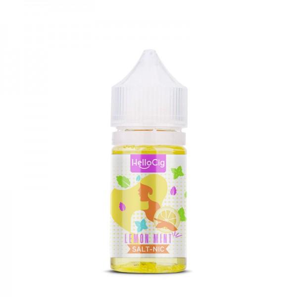 Lemon Mint nicotine salt e-liquid flavor
