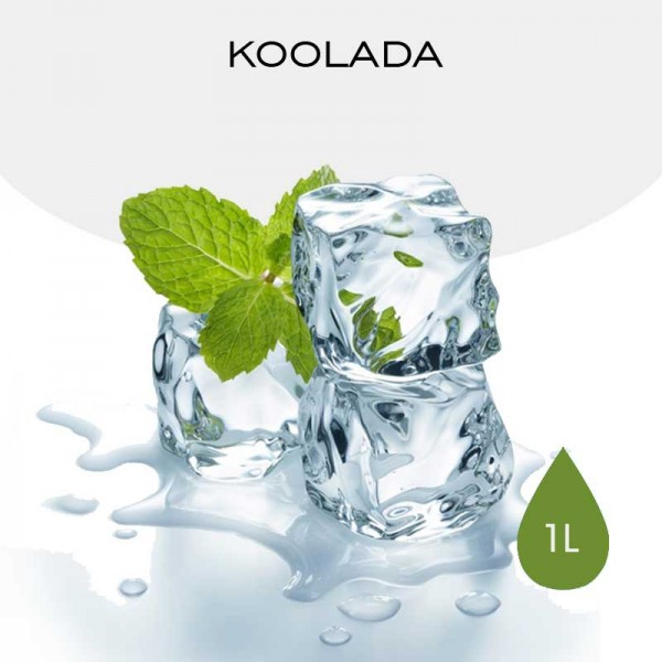 1L Koolada with a minty Coolness  for e-liquid