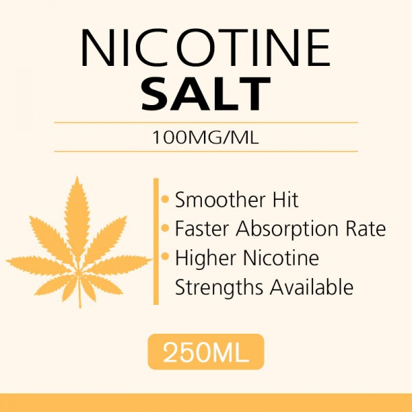 250ML 100mg/ml nicotine salts