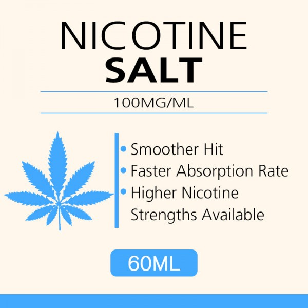60ML 100mg/ml nicotine salts