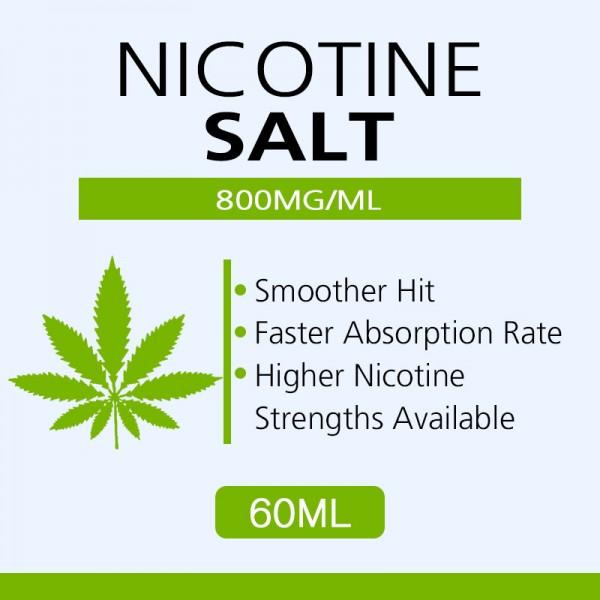 60ML 800mg/ml nicotine salts Very high