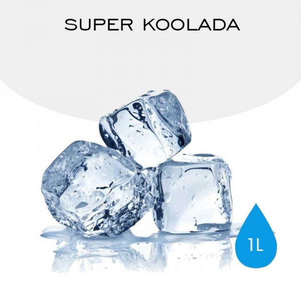 1L Super Koolada with a non-minty for e-liquid