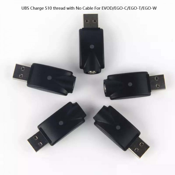 High quality USB charger 510 Thread Charge No Cable For Evod/EGO/Ego-T/Ego-W Battery