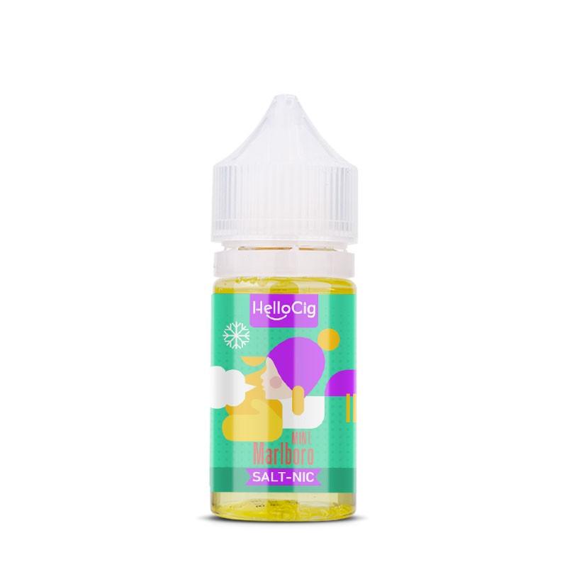 Marlboro Mint nicotine salt e-liquid flavor