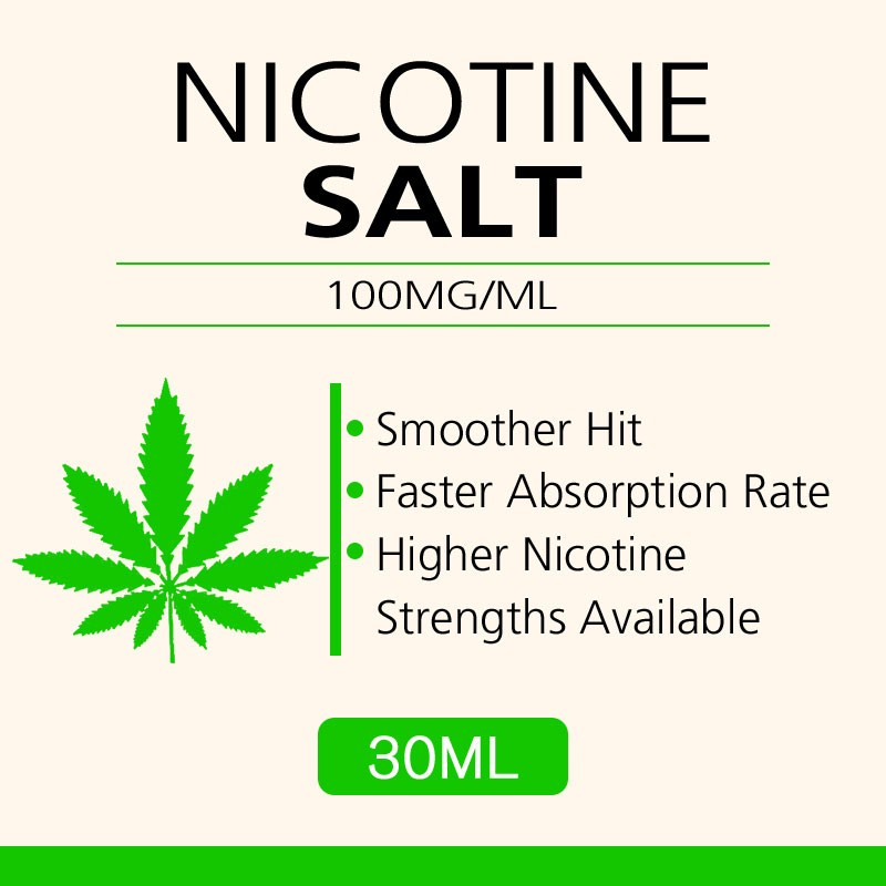 30ML 100mg/ml nicotine salts