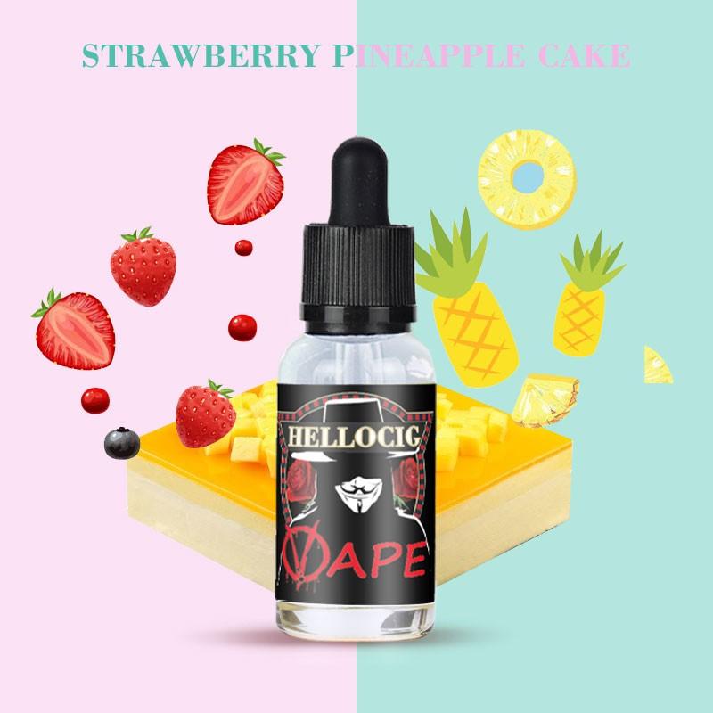 Strawberry Pineapple  Cake Flavor E-Liquid 30ML