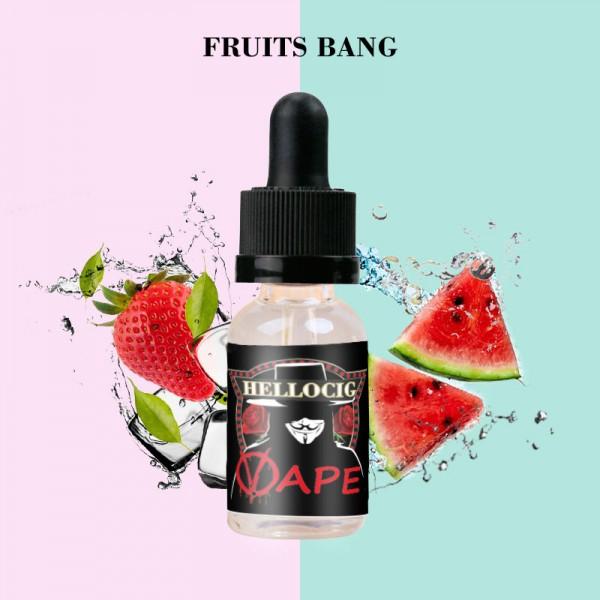 Fruits Bang Flavor E-Liquid 10ML