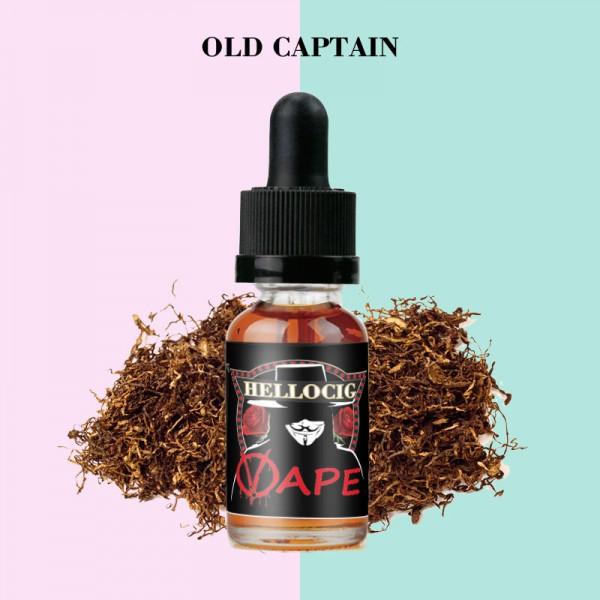 Old  Captain Flavor E-Liquid 10ML