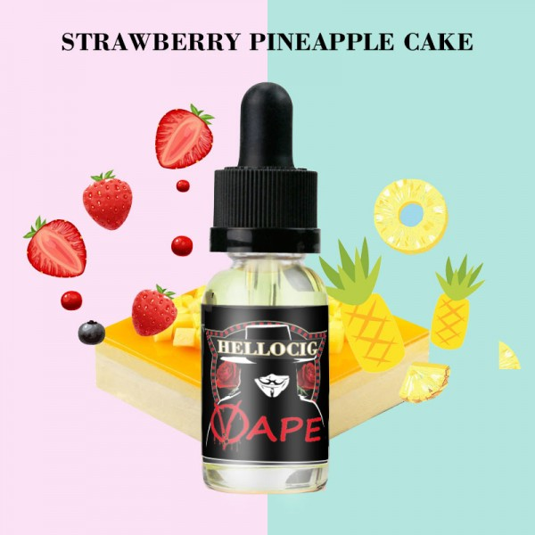 Strawberry Pineapple  Cake Flavor E-Liquid 10ML