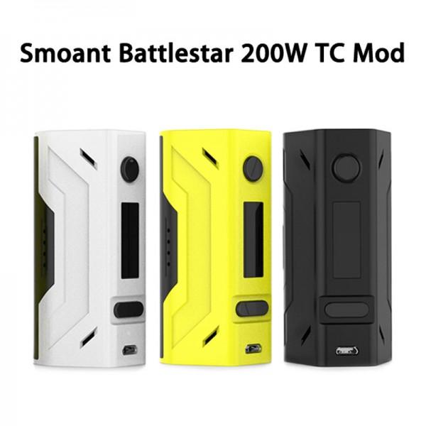 SMOANT BATTLESTAR 200W DUAL 18650 TCR TC MOD
