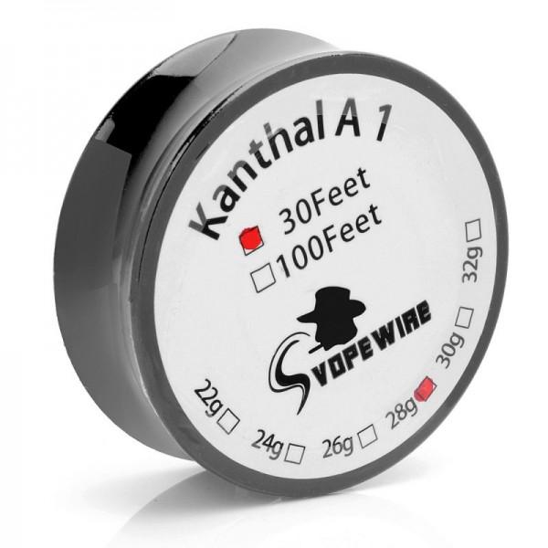Kanthal A1 Wire 30 Feet Heating Wires AWG 24 26 28 Gauge Wires DIY RDA RBA