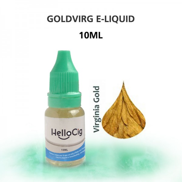 ゴールデン・バージニア HC 電子タバコ用リキッド 10ML