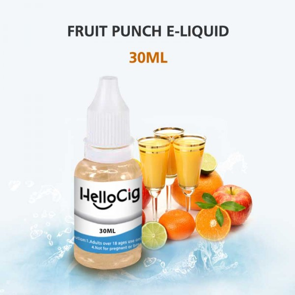 フルーツ・ポンチ風味 HC 電子タバコ用リキッド 30ML