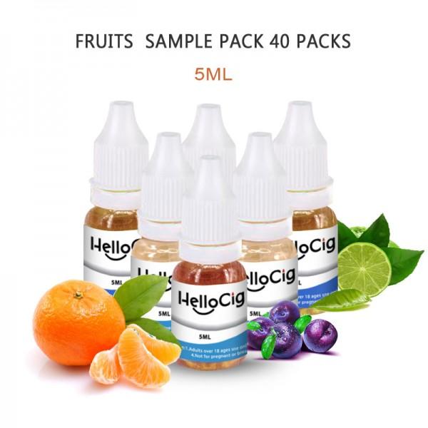HC 5ML Fruits E-Liquid Sample 40 Packs