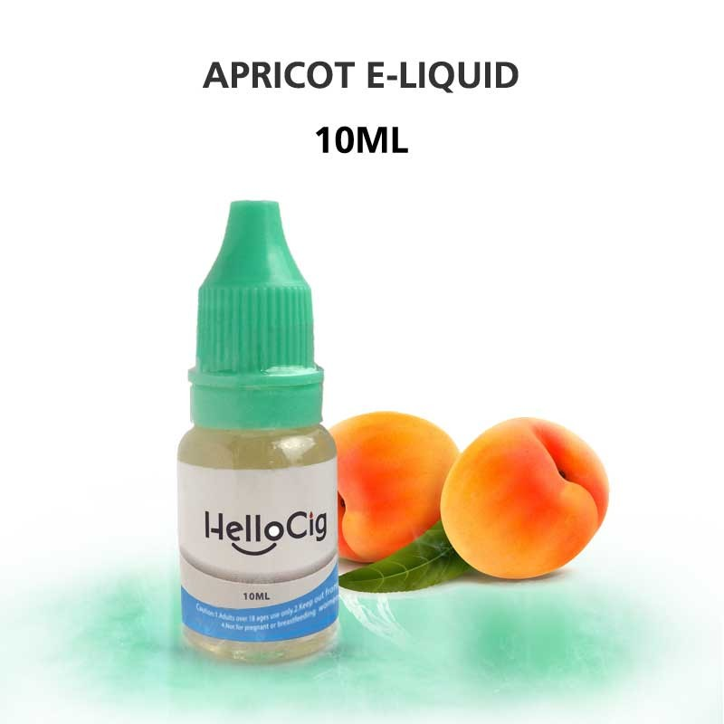 E-Juice Apricot HelloCig E-Liquid 10ml
